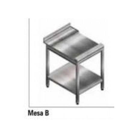 Mesa Lisa Acero Inox. Lavavajillas Cupula Jemi Gs 83