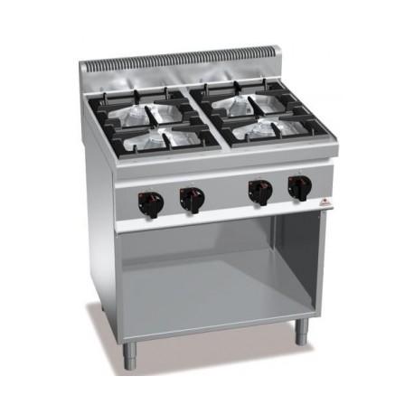 Cocina Bertos Serie 700 Macros 4 Fuegos Con Mueble