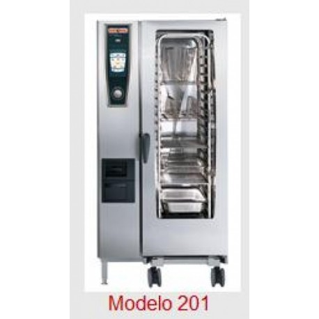 Horno Rational Self Cooking Center Whitefficiency 201 Electrico