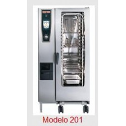 Horno Rational Self Cooking Center Whitefficiency 201 Gas