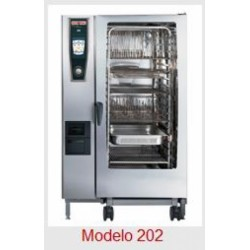 Horno Rational Self Cooking Center Whitefficiency 202 Electrico