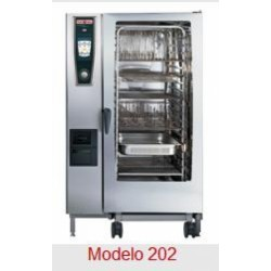 Horno Rational Self Cooking Center Whitefficiency 202 Gas