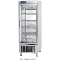 Armario de congelación Infrico puerta de cristal 500/1000 L. AN 501 BT CR
