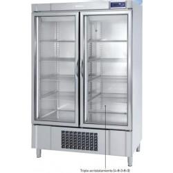 Armario de congelación Infrico puerta de cristal 500/1000 L. AN 1002 BT CR