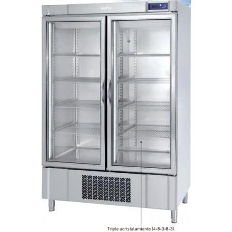 Armario de refrigeración Infrico puerta de cristal 500/1000 L. AEX 1600 T/F