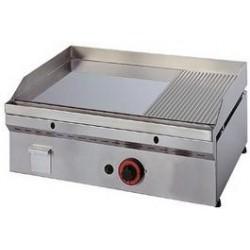 Fry-Top a gas Termostático Full-Crom Semiranurado Mainho FCR-60