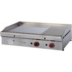Fry-top cromo duro termostático full-crom semiranurado Mainho FCR-120