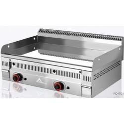 Fry-top cromo duro termostático euro-crom Mainho PC-90 N