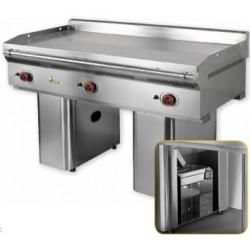 Fry-Top Mainho Gran Rendimiento Wok Teppanyaki Acero Rectificado FL-150/7